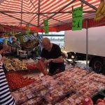 デュッセルドルフのフィッシュマーケット 日曜開催