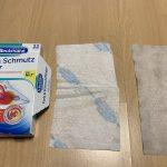 ドイツの洗濯の色移り防止シート